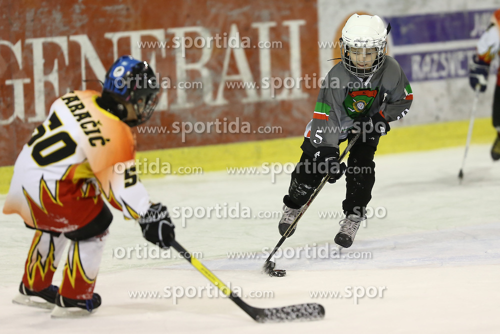 Youth ice hockey tournament Zmajcek 2012 by HK Olimpija, on December 1-2, 2012 in Hala Tivoli, Ljubljana, Slovenia. (Photo By Matic Klansek Velej / Sportida.com)