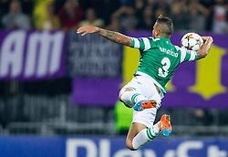 Maurício of Sporting during football match between NK Maribor and Sporting Lisbon (POR) in Group G of Group Stage of UEFA Champions League 2014/15, on September 17, 2014 in Stadium Ljudski vrt, Maribor, Slovenia. Photo by Vid Ponikvar  / Sportida.com