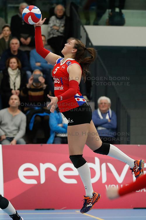 20180303 NED: Eredivisie Sliedrecht Sport - VC Sneek, Sliedrecht <br />Paula Boonstra of VC Sneek <br />©2018-FotoHoogendoorn.nl / Pim Waslander