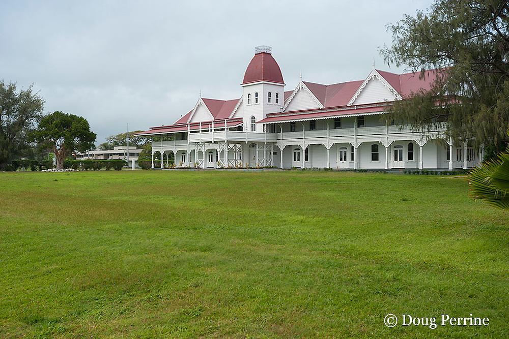 Royal Palace, Nuku'alofa, Kingdom of Tonga, South Pacific