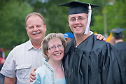 Undergraduate Commencement: Ohio University 2009 ..Eric Wichner with Parents Al and Dee Wichner