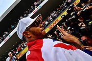 Lewis Hamilton has been named in the 'Paradise Papers' regarding the purchase of his Bombardier Challenger 605 private jet.<br /> Here pictured winning his fourth Formula One World Championship title on 29th October at Circuit Hermanos Rodriguez, Mexico City<br /> Picture by EXPA Pictures/Focus Images Ltd 07814482222<br /> 06/11/2017<br /> *** UK &amp; IRELAND ONLY ***<br /> <br /> EXPA-EIB-171030-0149.jpg