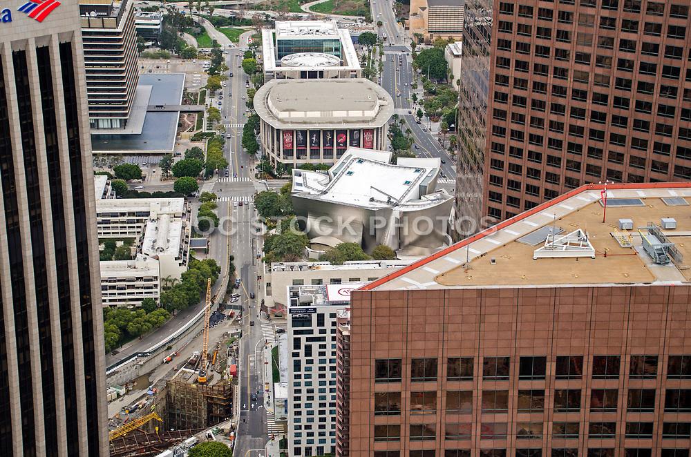 Walt Disney Concert Hall and LA Opera Downtown Los Angeles