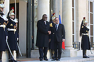 Paris: Francois Hollande Meets With Namibia's President Hage Geingob, 28 Nov. 2016