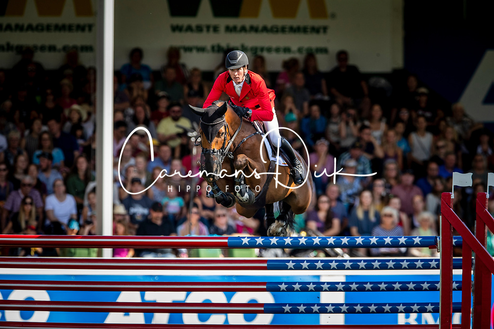 Clemens Pieter, BEL, Quintini<br /> Spruce Meadows Masters - Calgary 2019<br /> © Hippo Foto - Dirk Caremans<br />  07/09/2019
