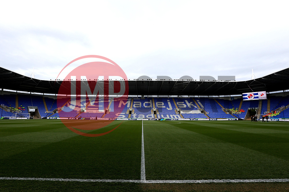 A general view of The Madejski Stadium, home of Reading - Mandatory by-line: Robbie Stephenson/JMP - 16/05/2017 - FOOTBALL - Madejski Stadium - Reading, England - Reading v Fulham - Sky Bet Championship Play-off Semi-Final 2nd Leg