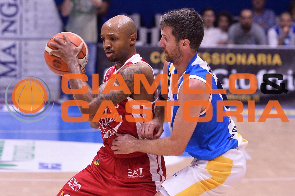 Hickman Richard<br /> Betaland Capo D'Orlando - EA7 Emporio Armani Olimpia Milano<br /> Playoff Gara 4<br /> Lega Basket 2016/2017<br /> Capo D'Orlando 18/05/2017<br /> Foto Ciamillo-Castoria