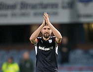 Dundee&rsquo;s Kostadin Gadzhalov at the end - Dundee v St Johnstone in the Ladbrokes Scottish Premiership at Dens Park, Dundee - Photo: David Young, <br /> <br />  - &copy; David Young - www.davidyoungphoto.co.uk - email: davidyoungphoto@gmail.com