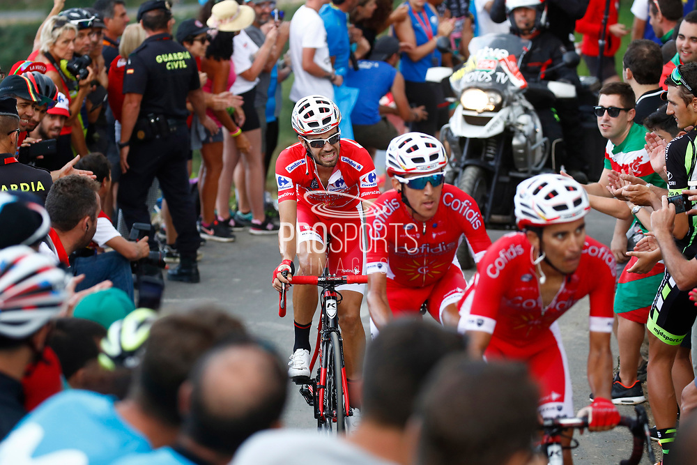 Jesus Herrada (ESP, Cofidis) during the 73th Edition of the 2018 Tour of Spain, Vuelta Espana 2018, Stage 14 cycling race, Cistierna - Les Praeres Nava 171 km on September 8, 2018 in Spain - Photo Luca Bettini/ BettiniPhoto / ProSportsImages / DPPI
