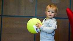 12-05-2014 NED: Persconferentie Nederlands vrouwen en mannen team, Arnhem<br /> Op papendal werden door beide bondcoaches en aanvoerders de plannen voor het nieuwe seizoen gepresenteerd / Tom Rauwerdink