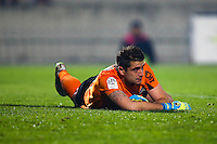 Deception Cedric Carrasso - 21.12.2014 - Bordeaux / Lyon - 19eme journee de Ligue 1 -<br />