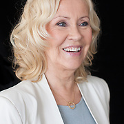 MARK CHILVERS PHOTOGRAPHER, 6 MAY 2013, LONDON. ORIGINAL ABBA MEMBER Agnetha Faltskog PHOTOGRAPHED AT THE CORINTHIAN HOTEL ON THE LAUNCH OF HER 1ST ALBUM RECORDING IN 30 YEARS