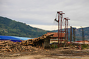 Sawmill Viseu de Sus, Maramures County, Romania