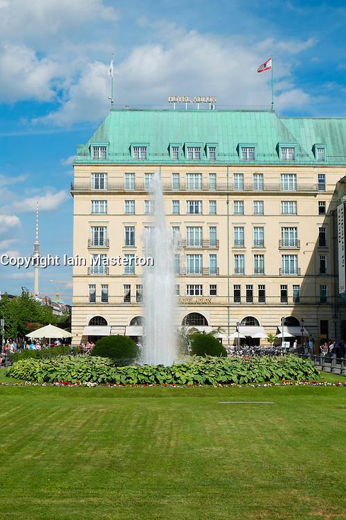 Hotel Adlon on Unter den inden in Berlin Germany