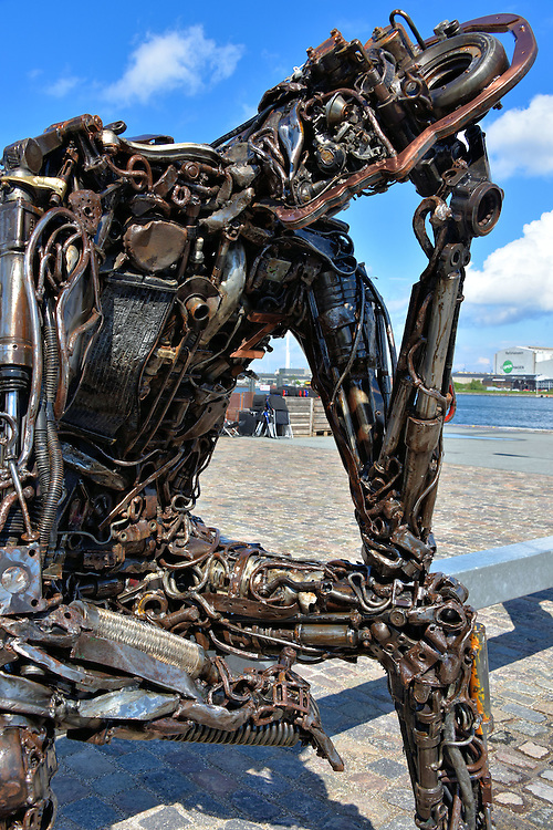 Zinkglobal Artwork by Kim Michael in Copenhagen, Denmark <br />