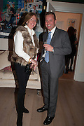 LADY ALEXANDRA ETHERINGTON; SIMON ROBINSON, Drinks party given by Basia and Richard Briggs,  Chelsea. London. SW3. 13 February 2014.
