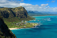 USA, Hawaii, Oahu, Honolulu,akapuu point state wayside