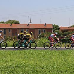 08-08-2020: Wielrennen: Milaan-San Remo: San Remo<br />Wout van Aert (211), Paul Martens (214), Ben Switf (205)