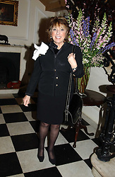 EVE POLLARD at a party to celebrate the publication of 'Keeping the Vision Alive' - the inspiring story of Barnardo's 1905-2005 by Winston Fletcher held at The Arts Club, 40 Dover Street, London W1 on 24th February 2005.<br /><br />NON EXCLUSIVE - WORLD RIGHTS