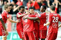 FOOTBALL - FRENCH CHAMPIONSHIP 2010/2011 - L1 - VALENCIENNES FC v STADE RENNAIS - 8/05/2011 - PHOTO ERIC BRETAGNON / DPPI - JOY VALENCIENNES