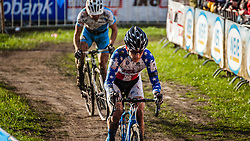 Allen KRUGHOFF (19,USA), 6th lap at Men UCI CX World Championships - Hoogerheide, The Netherlands - 2nd February 2014 - Photo by Pim Nijland / Peloton Photos