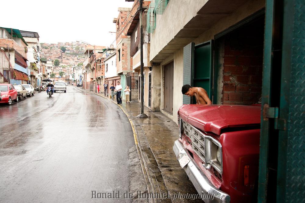 View of barrio 23 de enero in western Caracas.