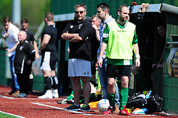 SYWD Manager - Mandatory by-line: Dougie Allward/JMP - 08/05/2016 - FOOTBALL - Keynsham FC - Bristol, England - BAWA Sports v SWYD United - Presidents cup final