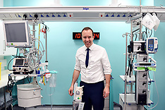Matt Hancock Visits Croydon University Hospital 20052019