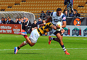 Taranaki vs Auckland ITM cup match played at Yarrow Stadium New Plymouth New Zealand. Saturday the 7th of September 2013. <br /> Photo John Velvin/Photosport