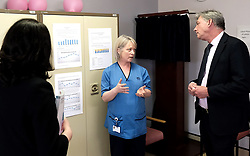 Scottish Labour leader Richard Leonard and Health spokesperson Monica Lennon met with midwives in NHS Lanarkshire, ahead of a Scottish Labour debate which calls on the SNP Government to invest an additional &pound;10 million for the implementation of Best Start and to investigate claims that midwives are not being given sufficient resources to do their jobs.<br /> <br /> Scottish Labour will use parliamentary time this week to call on the SNP Government to investigate reports that midwives do not have enough resources to do their jobs safely.<br /> <br /> Concerns have been raised in an open letter by midwives in NHS Lothian, which claim they do not have enough computers, equipment and pool cars.<br /> <br /> Scottish Labour have also called for an additional &pound;10 million to be allocated towards the implementation of the Best Start recommendations, to ensure that midwives are given adequate time, training and resources.<br /> <br /> Scottish Labour Health Spokesperson Monica Lennon said:<br /> <br /> &ldquo;Midwives play a crucial role in caring for women and babies. The best way of recognising their contribution to our NHS is by making sure they have enough resources to do their jobs safely.<br /> <br /> &ldquo;That&rsquo;s why Scottish Labour is calling on the SNP Government to investigate reports about a lack of equipment and resources, and to provide an additional &pound;10 million towards the implementation of the Best Start recommendations.<br /> <br /> &ldquo;The Health Secretary must listen to the concerns of midwives and take urgent action to address the workforce crisis.&rdquo;<br /> <br /> Pictured: Richard Leonard and Monica Lennon chat to consultant midwife Maureen McSherry<br /> <br /> Alex Todd | Edinburgh Elite media
