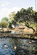 Natural bathing spring at Air Sanih