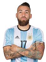 Football Conmebol_Concacaf - <br />Copa America Centenario Usa 2016 - <br />Argentina National Team - Group D -<br />Nicolas Otamendi