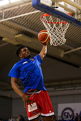 Marcus Delpeche of Bristol Flyers - Photo mandatory by-line: Robbie Stephenson/JMP - 29/03/2019 - BASKETBALL - English Institute of Sport - Sheffield, England - Sheffield Sharks v Bristol Flyers - British Basketball League Championship