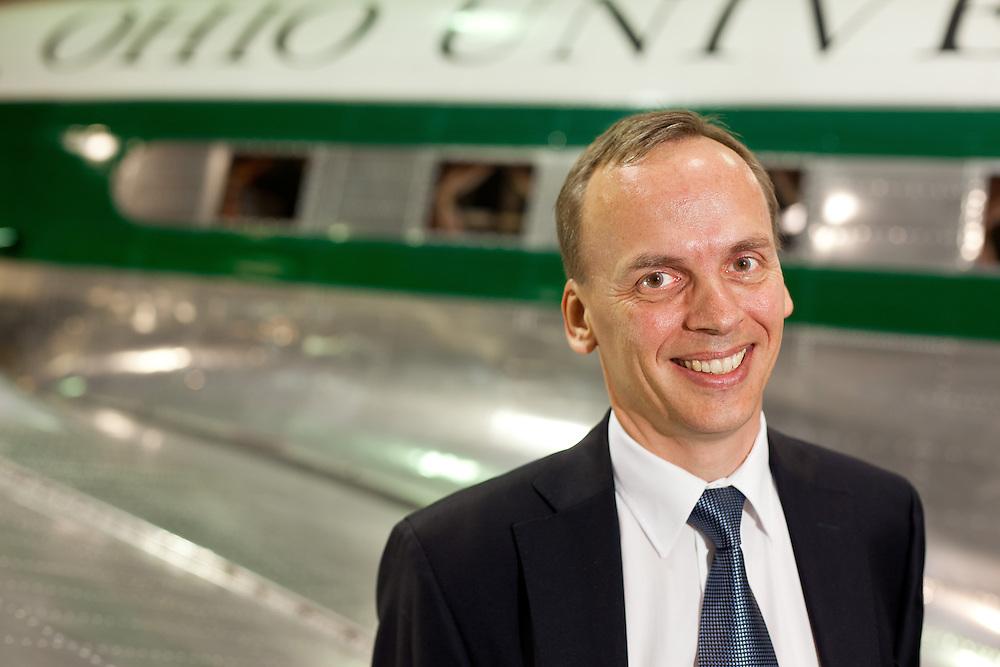 Frank van Graas, Ohio University airport. Ohio University Advancement, Russ College of Engineering