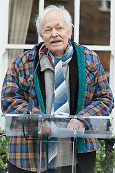 April 27, 2017 - London - MICHAEL PENNINGTON attends the unveiling of an English Heritage Blue Plaque at the London home of Sir John Gielgud where he lived for 31 years. (Credit Image: © Ray Tang/London News Pictures via ZUMA Wire)