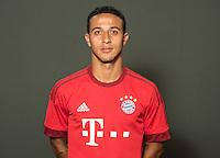 German Soccer Bundesliga 2015/16 - Photocall of FC Bayern Munich on 16 July 2015 in Munich, Germany: Thiago Alcantara