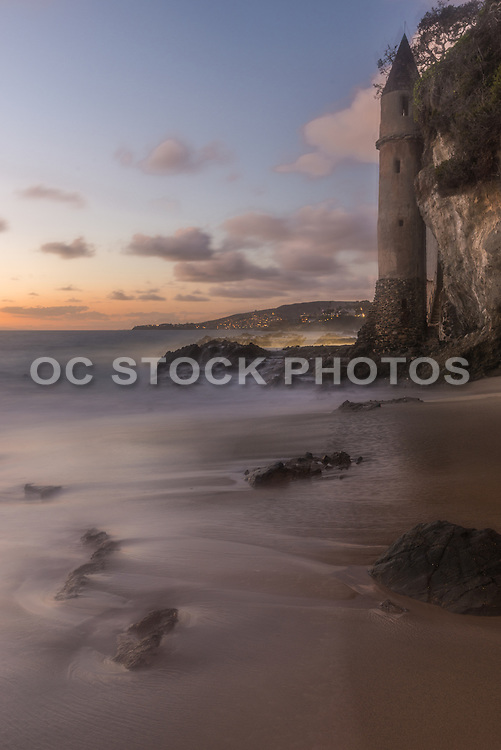 Pirate Tower at Victoria Beach in Laguna Beach California