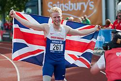 PEACOCK Jonnie, 2014 IPC European Athletics Championships, Swansea, Wales, United Kingdom