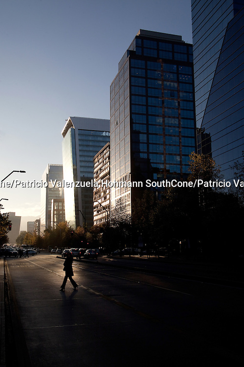 Santiago's new Commercial district, Providencia and Las Condes.<br />