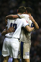 Photo: Paul Greenwood/Sportsbeat Images.<br />Leeds United v Huddersfield Town. Coca Cola League 1. 08/12/2007.<br />Leeds United's Tore Andre Flo celebrates scoring