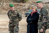 Francoise Dumas, deputee LREM en visite  au 2eme regiment etranger d infanterie.<br /> Avec le colonel Steve CARLETON (G), Chef de corps du 2eme REIPendant cette visite elle d&eacute;couvre le VBCI et echange avec les militaires<br /> VBCI<br /> Vehicule blinde de combat &nbsp;fran&ccedil;ais&nbsp;tout-terrain&nbsp;a huit roues, con&ccedil;u et fabrique en France par&nbsp;Nexter Systems&nbsp;et par&nbsp;Renault Trucks Defense<br /> 11&nbsp;soldats&nbsp;peuvent prendre place a bord du vehicule, qui est equipe de tous les moyens de communication modernes<br /> L objectif du VBCI est d amener le&nbsp;fantassin&nbsp;au plus pres des combatLa protection du vehicule peut etre adaptee a la menace<br /> Le VBCI peut-etre&nbsp;aerotransportable&nbsp;par un&nbsp;Airbus A400M.