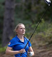 NUNSPEET  -  Danique Stokmans (Oranje) , speler NGF Nationale selectie golf Nationale team,   COPYRIGHT KOEN SUYK