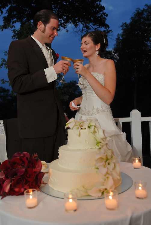 The wedding of Laura Johnson and Sampsa Tuomisto held at the Clifton Inn, Charlottesville, Virginia on July 28, 2007. (Photos by Alan Lessig/The Wedding Bureau)