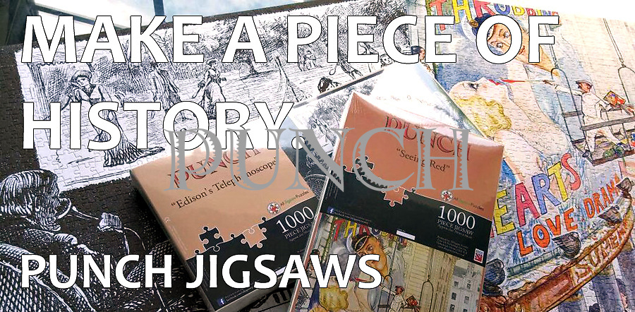 Punch cartoon jigsaw puzzles. Please see our JIGSAW GALLERY at the link below:<br />