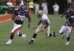 Jason Snelling (38)..The Virginia Cavaliers defeated the Western Michigan Broncos 31-19 on September 3, 2005 at Scott Stadium in Charlottesville, VA.