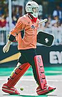 ANTWERP -   Goallie Tyler Lovell  of Australia during the final Australia vs Belgium (1-0). WSP COPYRIGHT KOEN SUYK