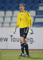 Fussball 1. Bundesliga  Saison   2010/2011   08.01.2011 FC Bayern Muenchen -  Al Wakrah Sport Club Torwart Thomas Kraft (FC Bayern Muenchen)