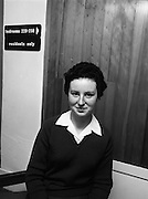 Seafood Cook in Rosslare 07/05/1976.05/07/1976.7th May 1976.Picture of Miss Yvonne Cooney, (15 years), Dominican Convent, Muckross Park, Dublin, the winner of the competition.
