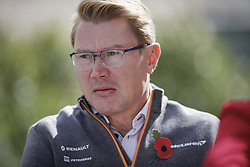 November 2, 2019, Austin, United States of America: Motorsports: FIA Formula One World Championship 2019, Grand Prix of United States, .Mika Hakkinen (FIN) (Credit Image: © Hoch Zwei via ZUMA Wire)