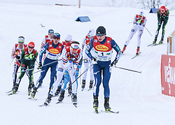 16.12.2017, Nordische Arena, Ramsau, AUT, FIS Weltcup Nordische Kombination, Langlauf, im Bild Taihei Kato (JPN) // Taihei Kato of Japan during Cross Country Competition of FIS Nordic Combined World Cup, at the Nordic Arena in Ramsau, Austria on 2017/12/16. EXPA Pictures © 2017, PhotoCredit: EXPA/ Martin Huber